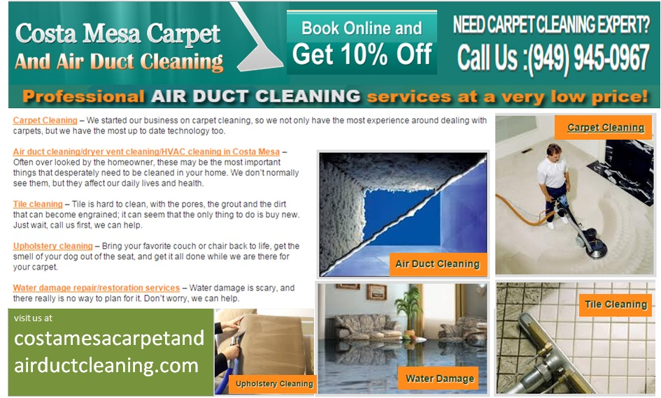 Solid advice whilst you want a Carpet Cleaned | Costa Mesa ...